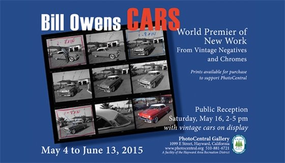 Bill Owens Cars May 4 - June 13