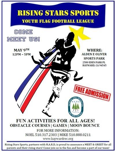 Youth Flag Football League May 9th