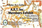Adobe Art Gallery Exhibit