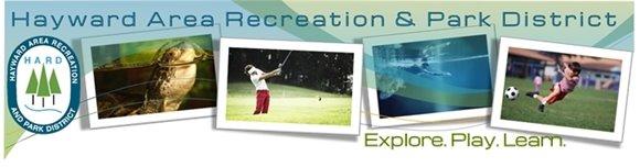 Hayward Area Recreation and Park District Header