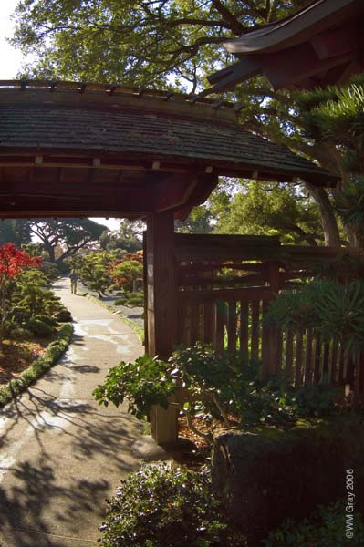 Archway in the Japanese Gardens